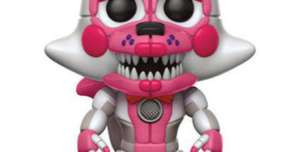 Five Nights at Freddy's Sister Location POP! 228 Games Vinyl Funtime Foxy