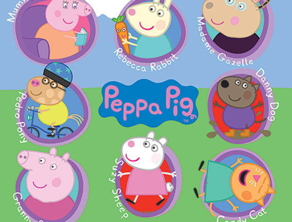 594 Peppa Pig (Multi Characters)
