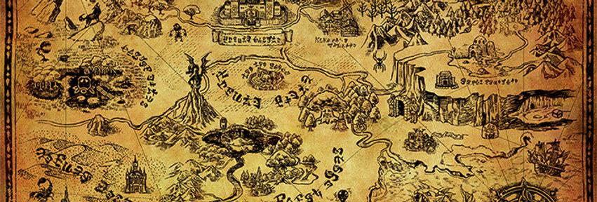 727 The Legend Of Zelda (Hyrule Map)