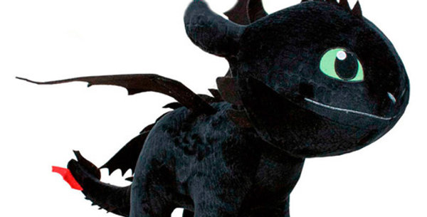 How To Train Your Dragon 3 Night Fury Toothless 60cm