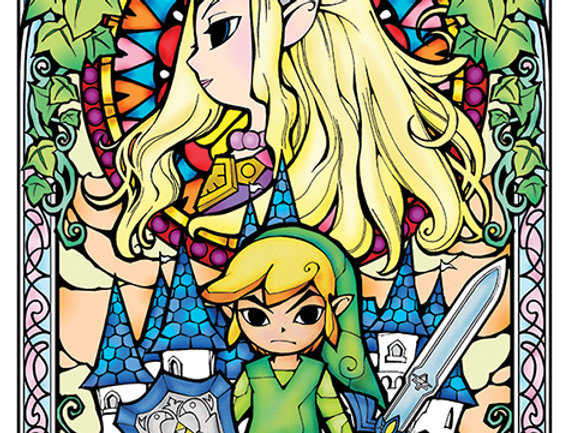 619 The Legend Of Zelda (Stained Glass)