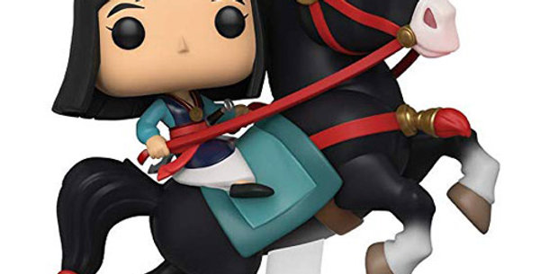 Funko POP! Disney #76 Mulan riding Khan