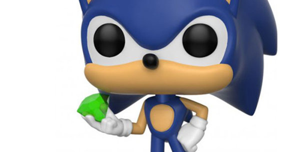 Funko Pop! Sonic The Hedgehog #284 Sonic with Emerald