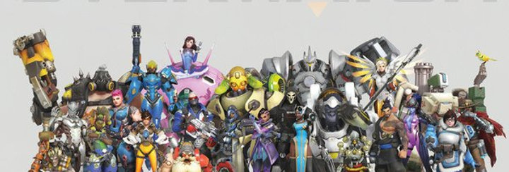 Overwatch NEW Poster plastifié #710