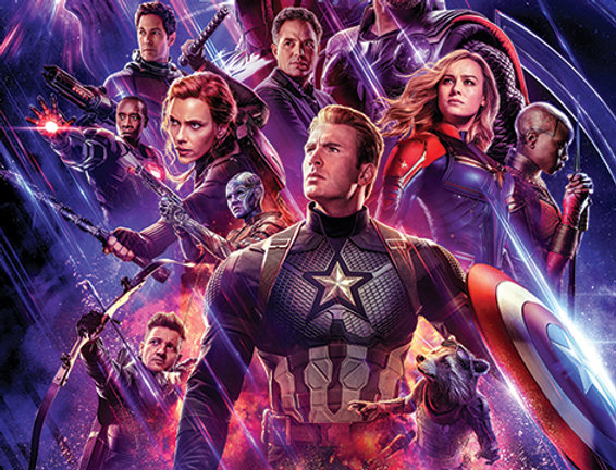 Poster plastifié 774 Avengers: Endgame (Journey's End)