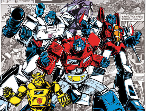 737 Transformers G1 (Retro Comics)