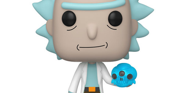 Funko POP! Rick and Morty #692 Rick with Crystal Skull