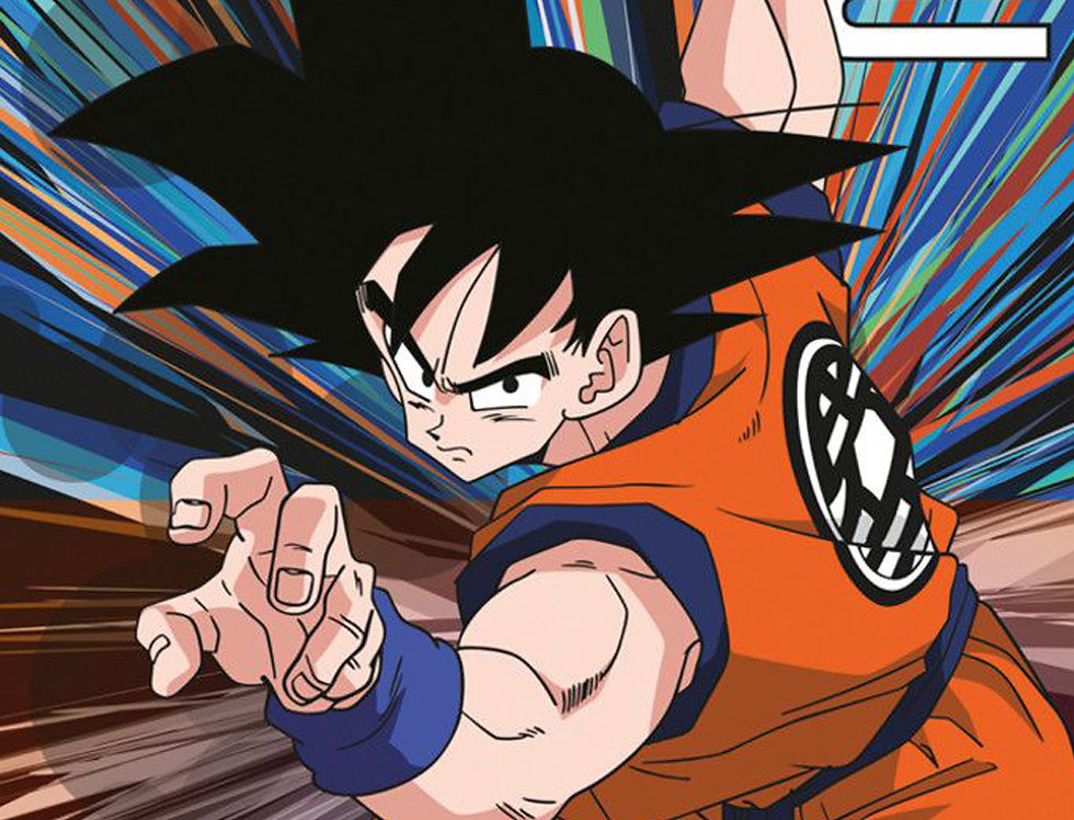 627 Dragonball Goku