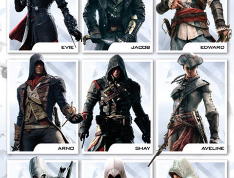 ASSASSINS CREED Compilation REF:682