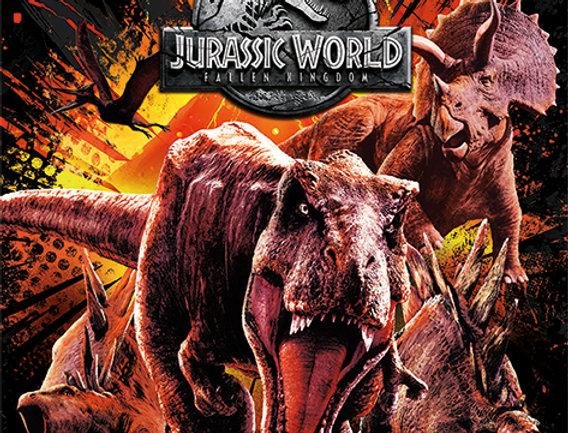 666 Jurassic World Fallen Kingdom (Montage)