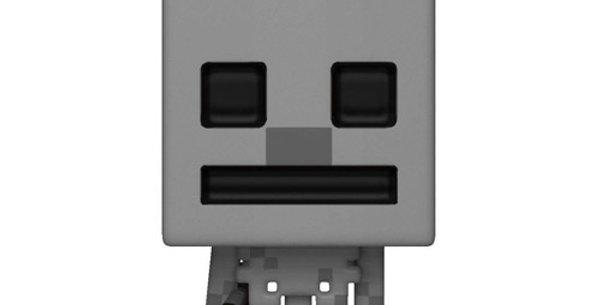 Funko POP! Minecraft 326 Skeleton In Fire Exclusive