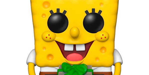 Bob l´éponge POP! Vinyl figurine SpongeBob Xmas 9 cm