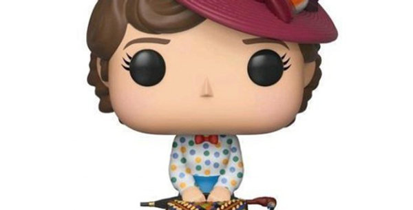 FIGURINE TOY POP N°467 - MARY POPPINS - MARY POPPINS AVEC SAC