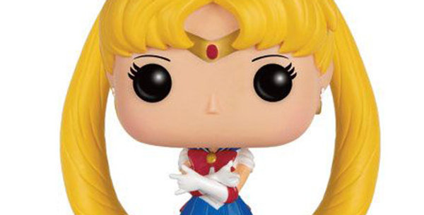 Sailor Moon POP! 89 Animation Vinyl figurine Sailor Moon & Luna 9 cm
