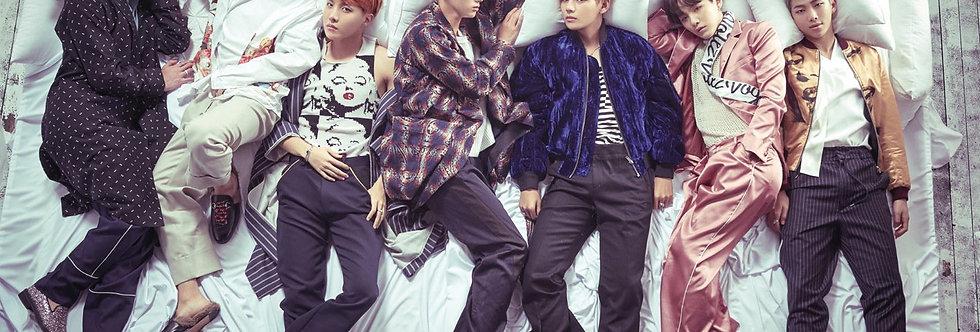 #716 BTS GROUP Poster plastifié