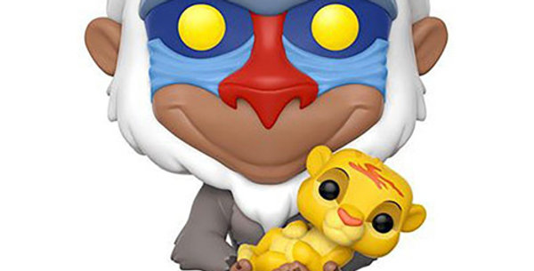 Pop figure 301 Disney The Lion King Rafiki with Simba