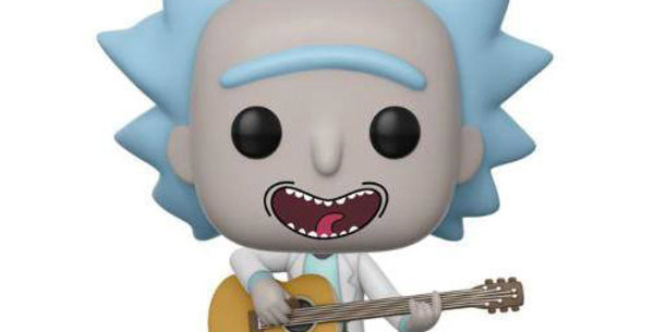 Rick et Morty Figurine POP! 489 Animation Vinyl Tiny Rick 9 cm