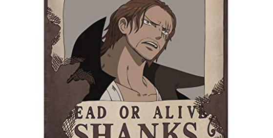 "ONE PIECE - Poster ""Wanted Shanks"" (52x35)"