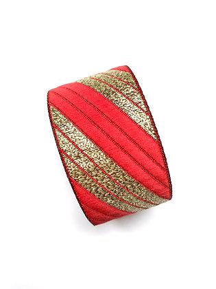 Manchette Stripe your Red Spirit