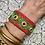 Thumbnail: Manchette Spirale Green