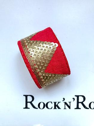 Manchette Pyramide Red