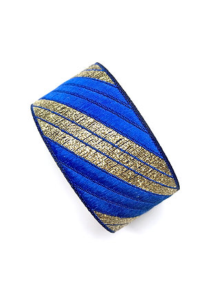 Manchette Stripe your Blue Spirit