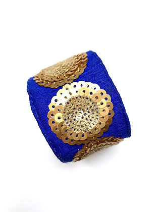 Manchette Royale Blue