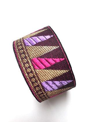 Manchette Bronze Purple