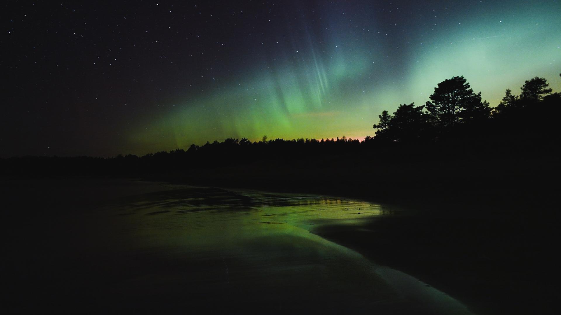 Yyteri Northern light