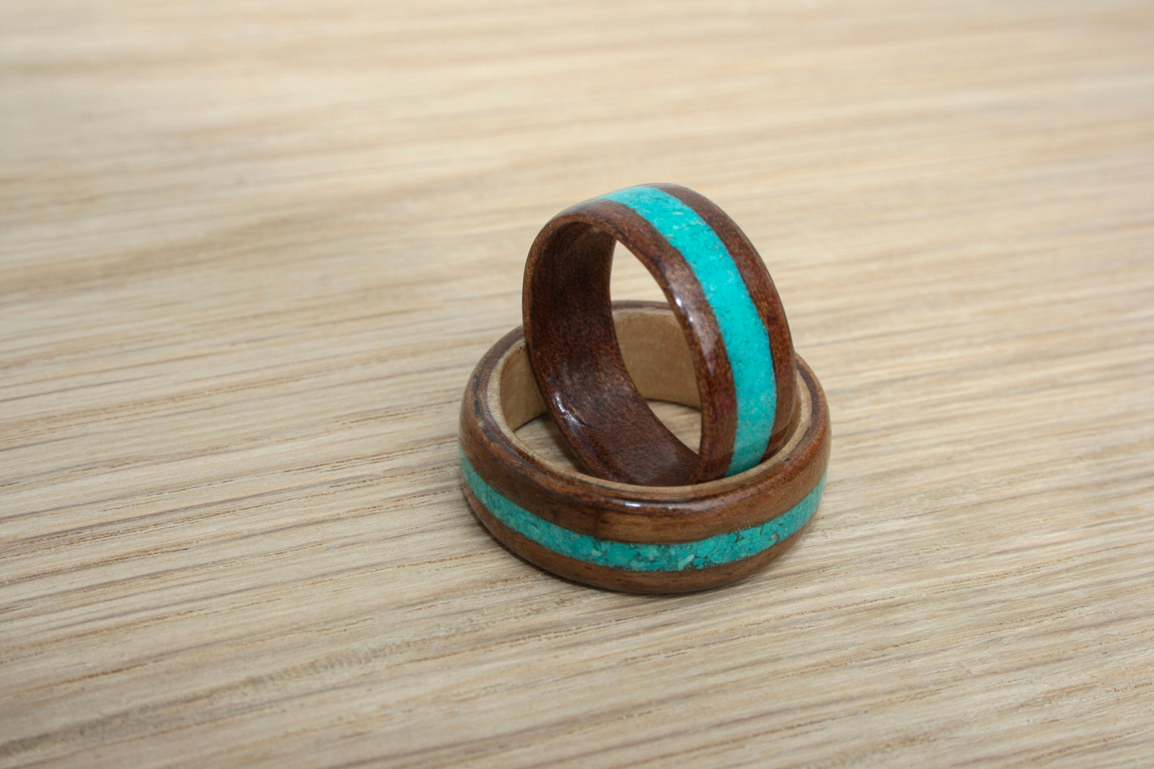 Wedding Rings Bands Turquoise