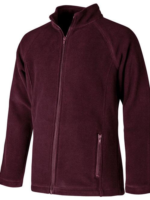 Juniors Fitted Polar Fleece Jacket Sizes S - 3XL