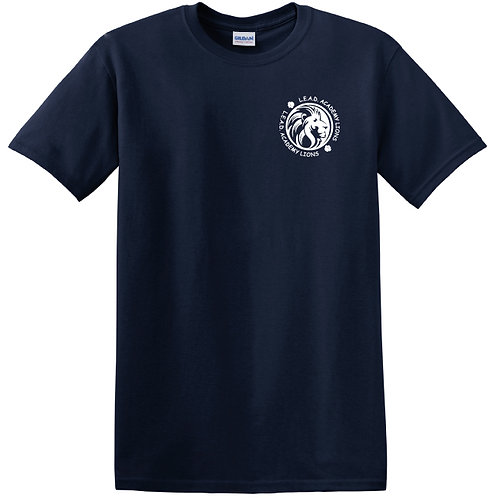 L.E.A.D. Navy Unisex Short Sleeve Field Trip Shirt Youth XS - Adult 3XL