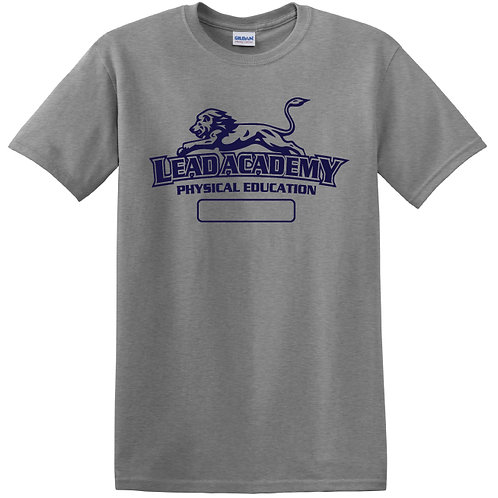 L.E.A.D. Unisex Physical Education T-Shirt Youth M - Adult XL