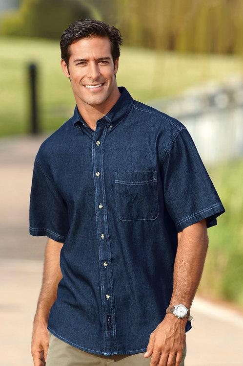 Port & Company® - Short Sleeve Value Denim Shirt XS-6XL, $27.98-$41.98