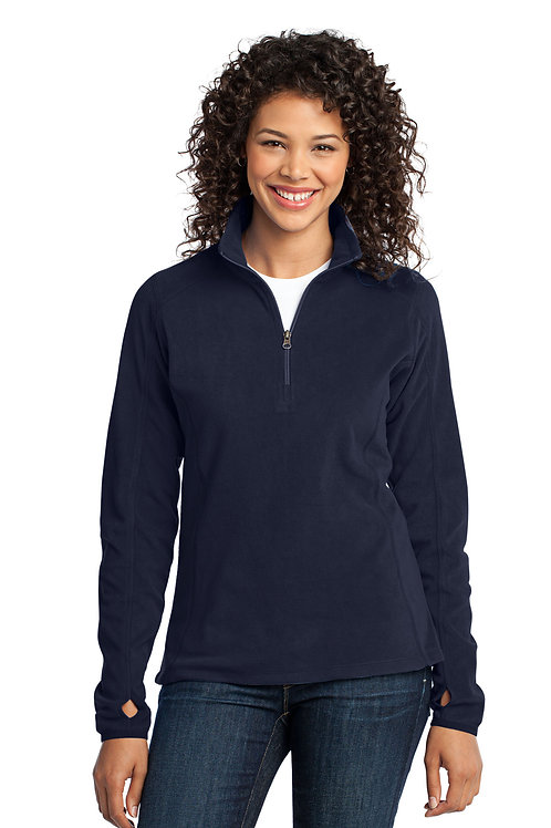 Port Authority® Ladies Microfleece 1/2-Zip Pullover XS-4XL, $31.98-$39.98