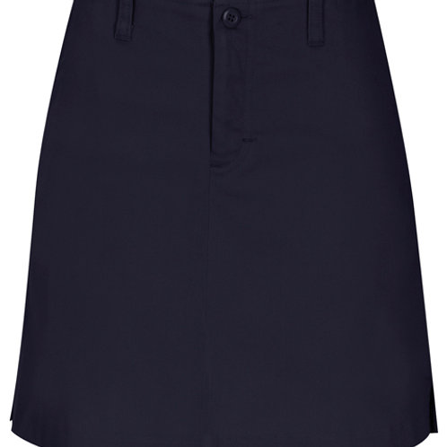 Juniors Stretch Fly Front Scooter Skirt Size 1/2-21/22