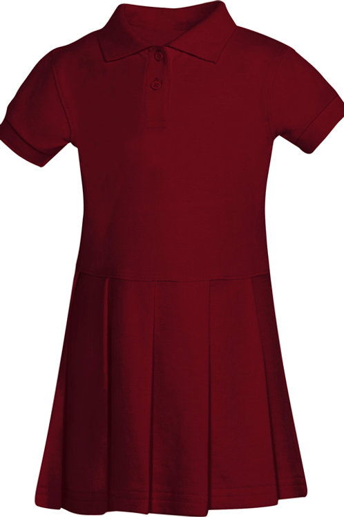 Girls Toddler Pique Polo Dress Sizes 2T-4T