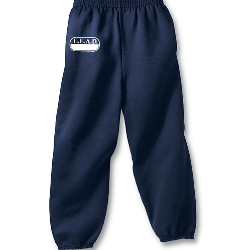 Youth Unisex L.E.A.D. Physical Education Sweatpants Sizes M-XL