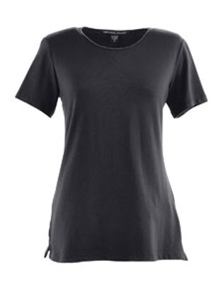 Ladies Perfect Fit Short Sleeve Knit Shell Top XS-3XL