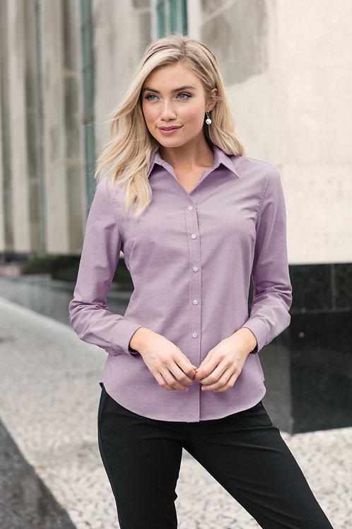 Port Authority® Ladies SuperPro™ Oxford Shirt Sizes XS-4XL, $37.98-$45.98