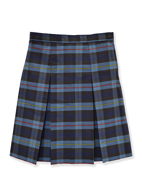 Girls Plaid Kick Skirt Youth Sizes 3-18 1/2