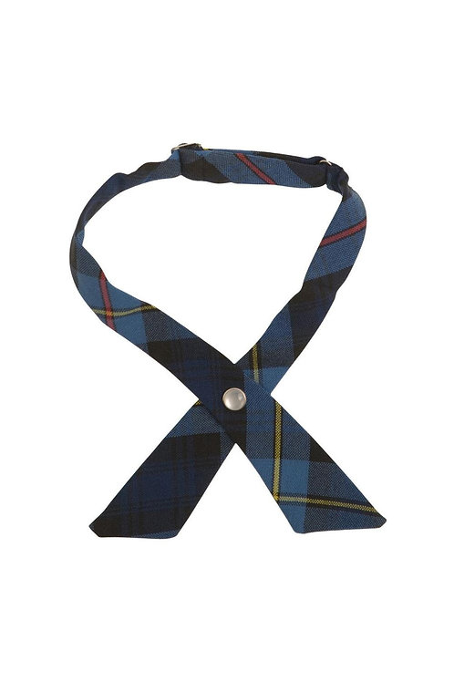 Girls/Juniors Adjustable Plaid Cross Tie