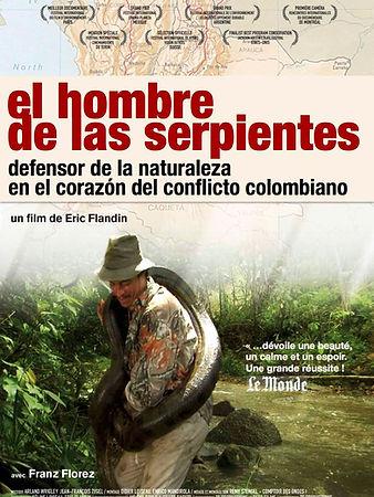 afiche el hombre de las serpientes -2014