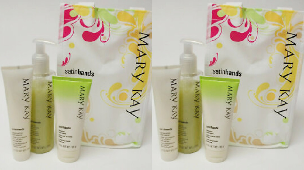 Mary Kay Honeydew Satin Hands® Pampering Set