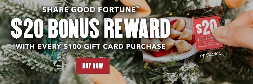 PF Changs, Dining, Savings, Gift cards,