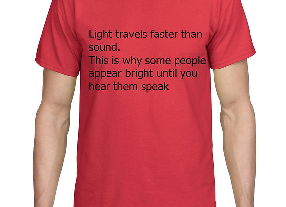 Light Travels Faster Than Sound