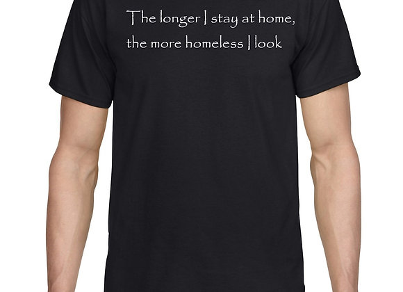 The longer I stay at home