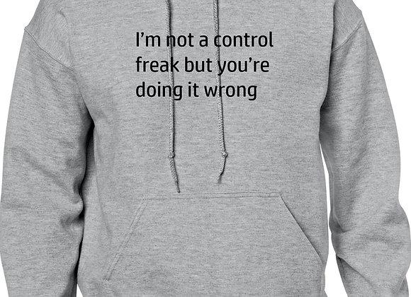I'm not a control freak