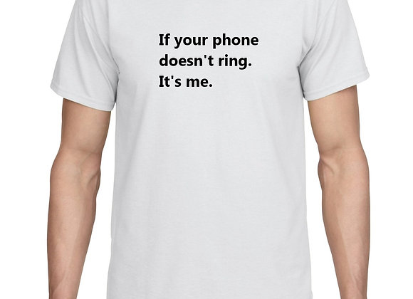 If your phone doesn't ring.