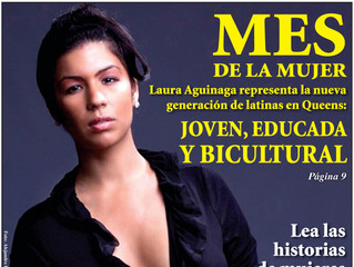 Queens Latino Cover Girl